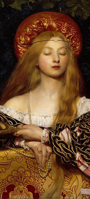 Vanity by Frank Cadogan Cowper. This painting fascinates me because the girl just reminds me of a modern supermodel. She just has such poise and looks timeless.