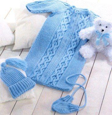 Вяжем комплект для новорожденного - Костюм.Комплект - Вязание для детей…
