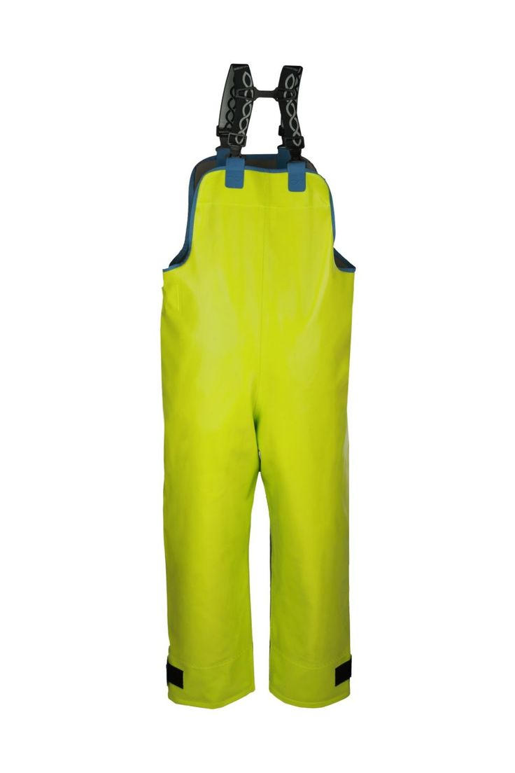 WATERPROOF STORM BIBPANTS Model: 003 Waterproof bibpants model 003 are made made of two types of fabric. The parts most exposed to mechanical damages are made of very resistant fabric Seal Skin, and to increase the comfort, the fabric OPALO has been used as well. Both fabrics have high parametres of resistance against salt water and flame retardant features as well.