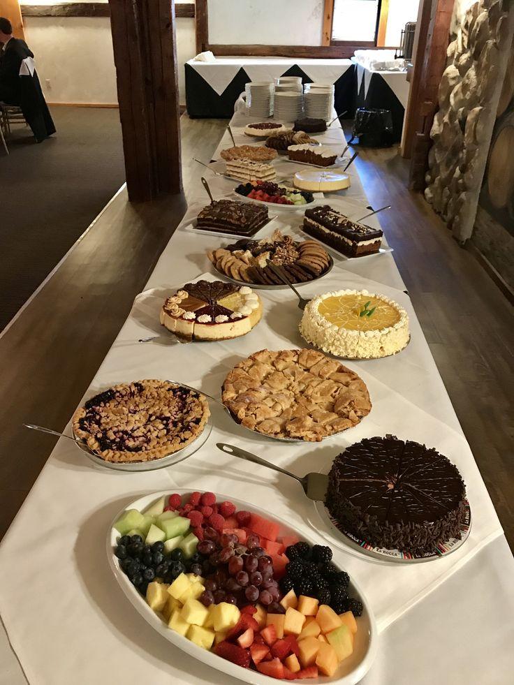 Dessert Buffet  - Hernder Estate Wines - winery weddings - barn weddings