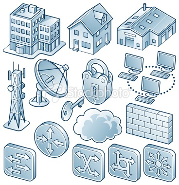 Network Diagram Component Icons 3