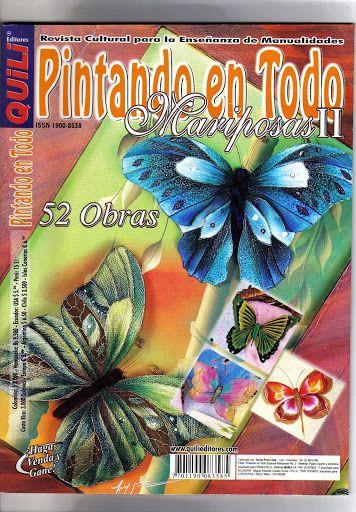 Free Painted Butterflies Patterns - Quili pintando en todo mariposas 2