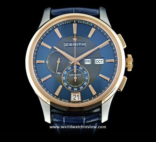Zenith Captain Winsor Westime Annual Calendar Chronograph Limited Edition automatic wrist watch