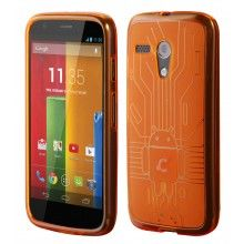 Funda Moto G Cruzerlite - Bugdroid Circuit Case Orange € 13,99