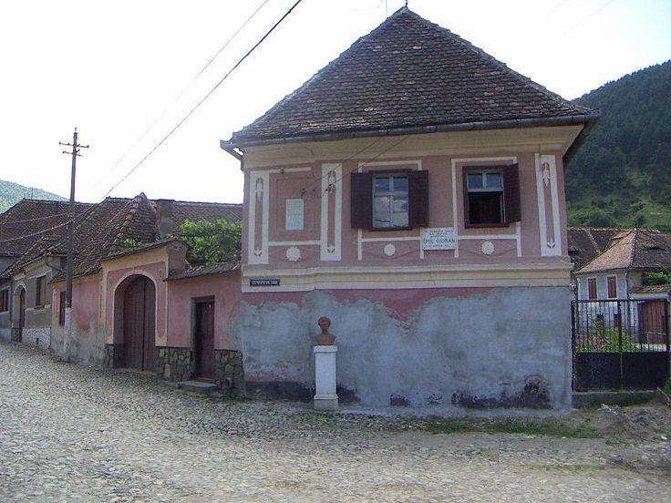 The house of Răşinari where Emil Cioran was born