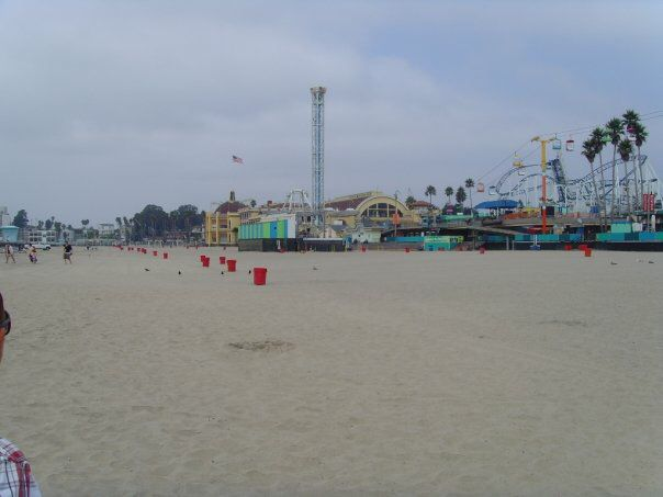 Board walk Santa Cruz