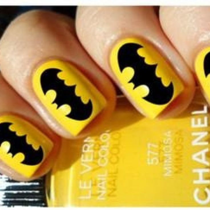 Batman Nails Easy To Do DIY Ideas (18 Pictures) - Best 25+ Batman Nails Ideas On Pinterest Batman Nail Designs
