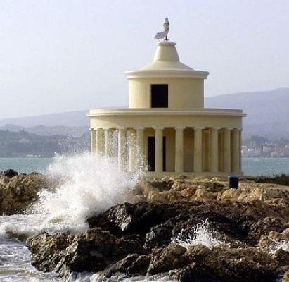 The lighthouse of Argostoli, Kefalonia island