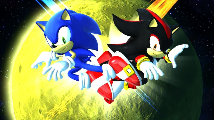 sonic and shadow | Shadow the Hedgehog - Sonic News Network, the Sonic Wiki