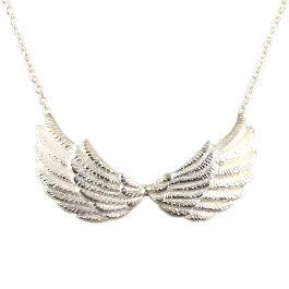 Silver Double Wing Necklace - £114.00 (Designer: Jana Reinhardt)