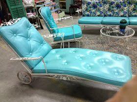C. Dianne Zweig - Kitsch 'n Stuff: Retro 1950s Patio Lounge Sets Are Back
