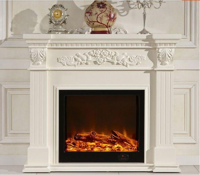 Modelo : 8090 barato decorativo marco chimenea en chimeneas ...