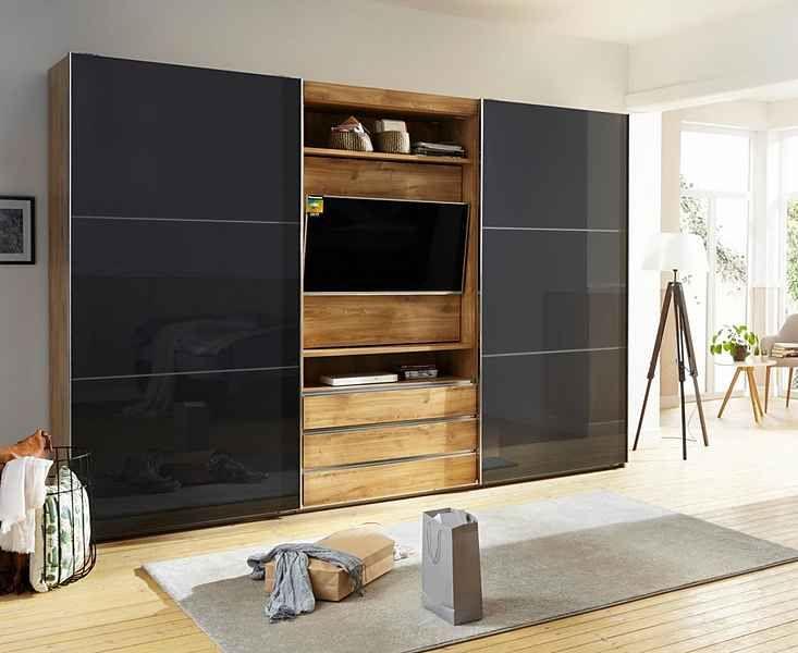 Fresh To Go Schwebeturenschrank Magic Mit Drehbaren Tv Element Online Kaufen Tv Unit Bedroom Tv In Bedroom Wardrobe Tv