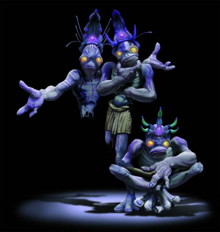 weirdos-oddworld inhabitants