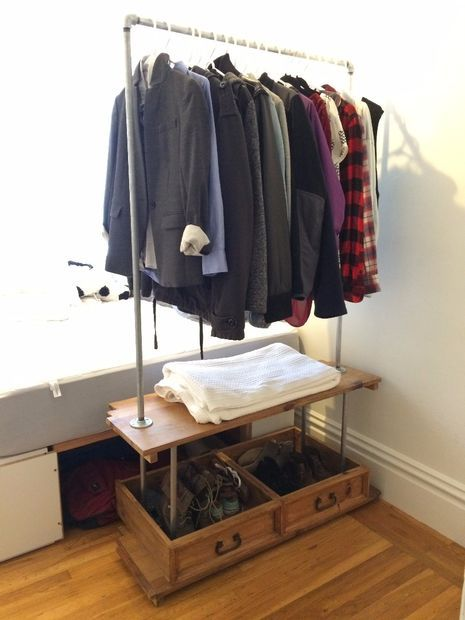 Custom Standing Closet