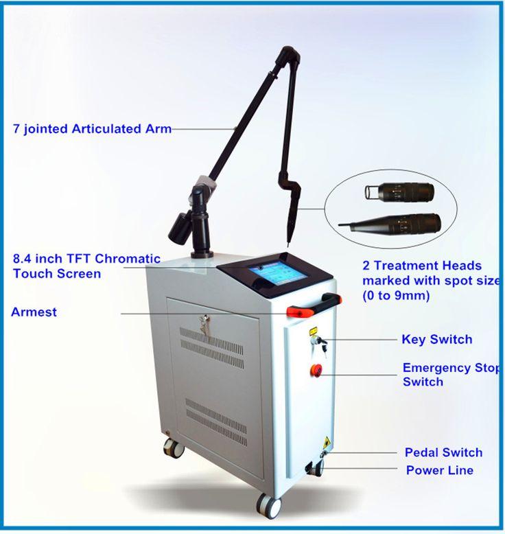 Q-Switched Nd: Yag Láser Máquina (MJQ12)