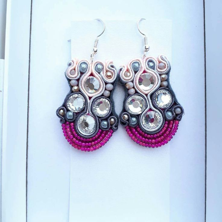 My New Project #jewellery #jewellerydesign #hademade #sell #birkenhead #fashion #earrings #białystok #bizuteria  #kolczyki #uk #followmenow  #pleasecomment  #shoping #soutache