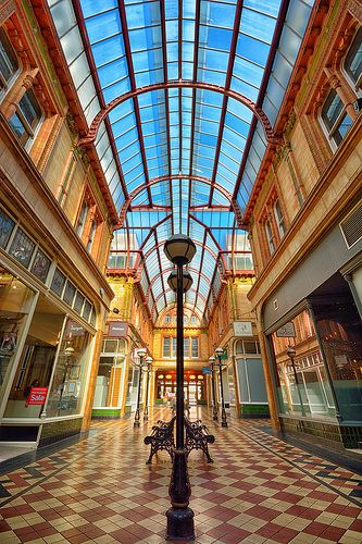 The Miller Arcade, Preston. | por Jason Connolly