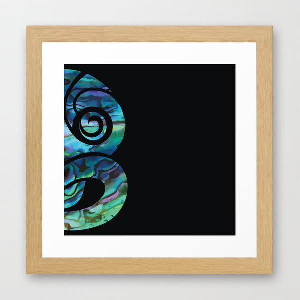 http://society6.com/product/tiki-in-paua-against-black_framed-print