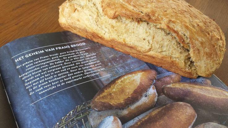 zeeeer easy-peasy recept voor een Frans Speltbrood, recept is voor 2 broden! Blond met een Groen Geloof.