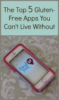 The Top 5 Gluten Free Apps You Cant Live Without                                                                                                                                                                                 More