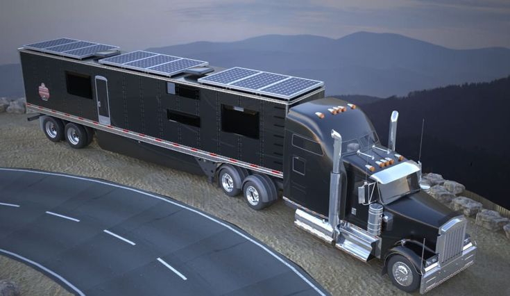 53 off grid semi truck trailer conversion other for