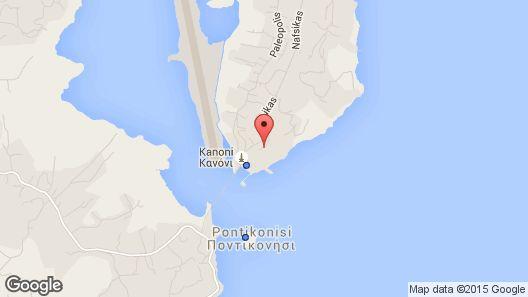 Corfu Holiday Palace Hotel Map