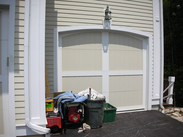1000 images about wood composite garage doors on for Composite wood garage doors