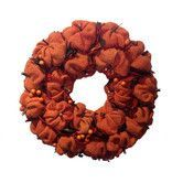 Found it at Wayfair - Burlap Pumpkin Wreath
