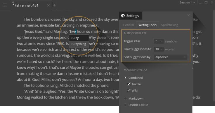 Write! Is a Distraction-Free Text Editor with Just the Right Features
