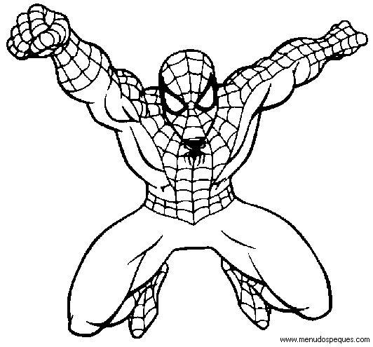 hombre araña para pintar e imprimir - Buscar con Google   DIY y ...