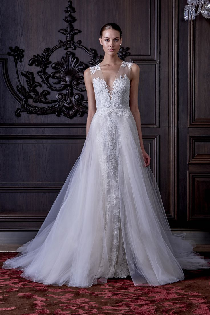42 best monique lhuillier images on pinterest wedding frocks monique lhuillier spring 2016 collection lamore detachable skirt on a wedding dress allows the bride to have two looks in one day with one dress ombrellifo Gallery
