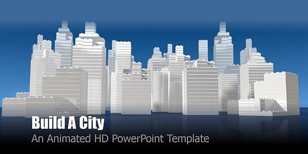 Build a city PowerPoint template
