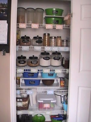 124 Best Organizing   Pantry/Closet Images On Pinterest | Organization  Ideas, Home Organization And Cleaning