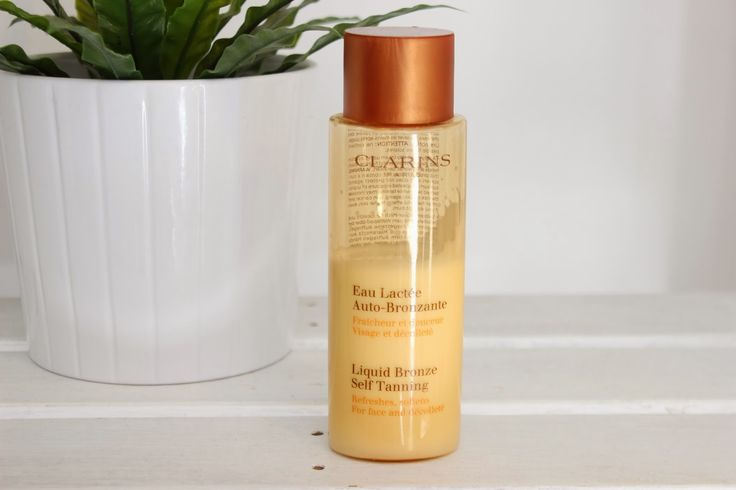 Clarins Liquid Bronze Self Tanning For Face And Décolleté // Review ~ BRITISH BEAUTY ADDICT