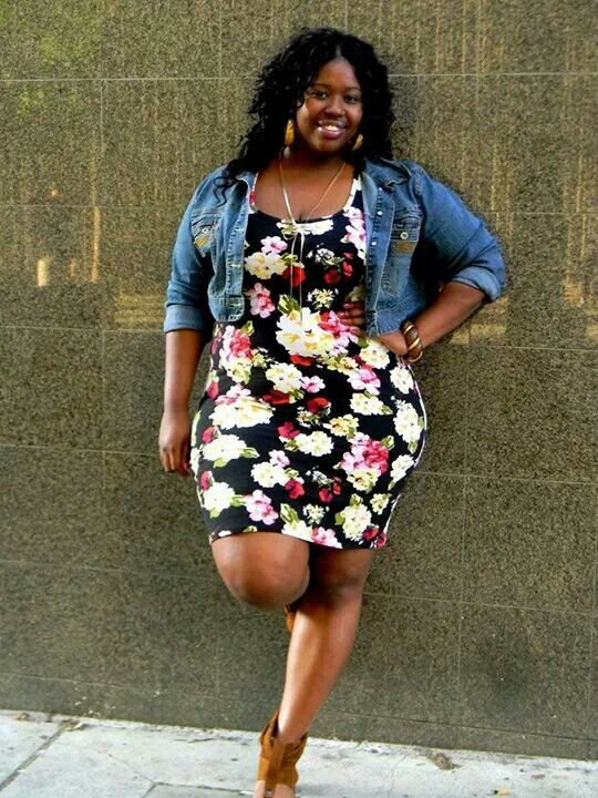Plus Size Fashion Styles Beauty Bbw Big Beautiful Woman With Confidence Curves Swag