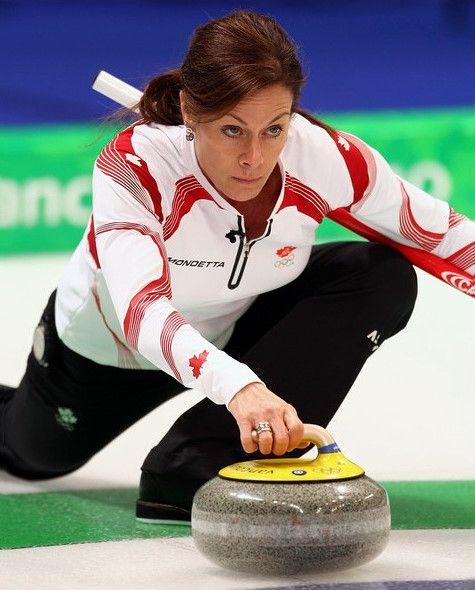 Curling!  Be SOCIALBLE!!!! Cheryl Bernard, Team Canada Olympics 2010