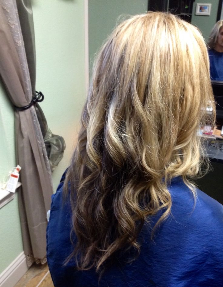 Beach wave curl elegant touch salon by anna pinterest for C curl perm salon vim