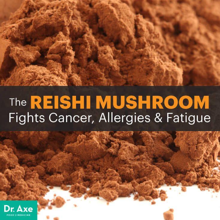 Reishi mushroom - Dr. Axe http://www.draxe.com #health #holistic #natural