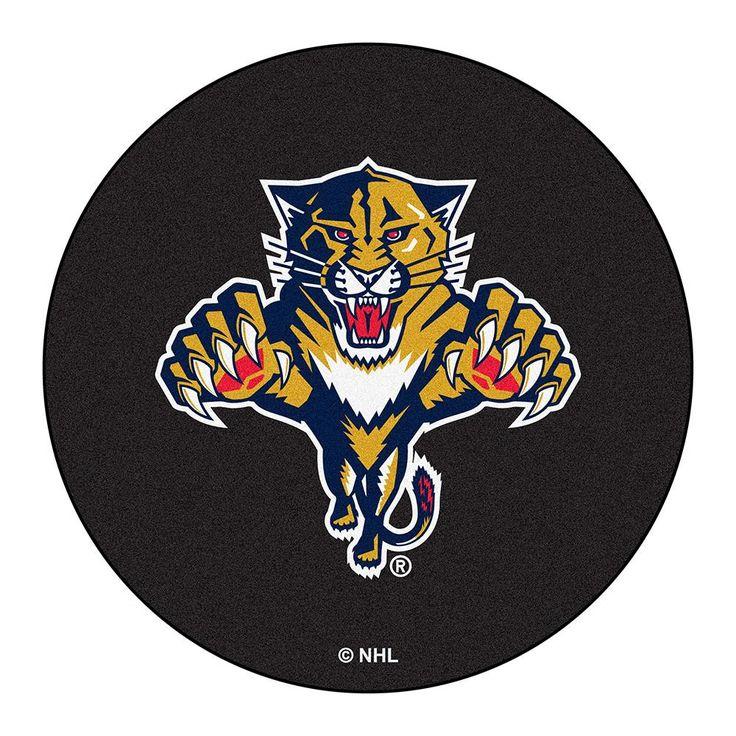 Florida Panthers NHL Puck Mat (29 diameter)