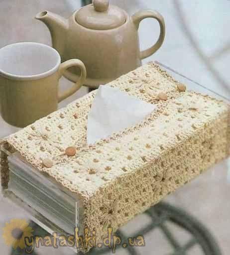 Коробка-чехол для салфеток