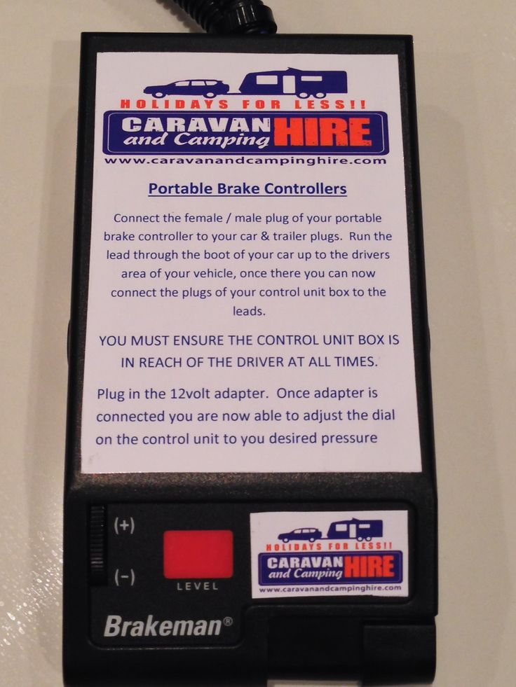 All new 'Portable Electric Brake Unit' now selling for just $290 per unit. You'll never have to get electric brakes installed in any of your vehicles ever again!! Order yours now. www.caravanandcampinghire.com