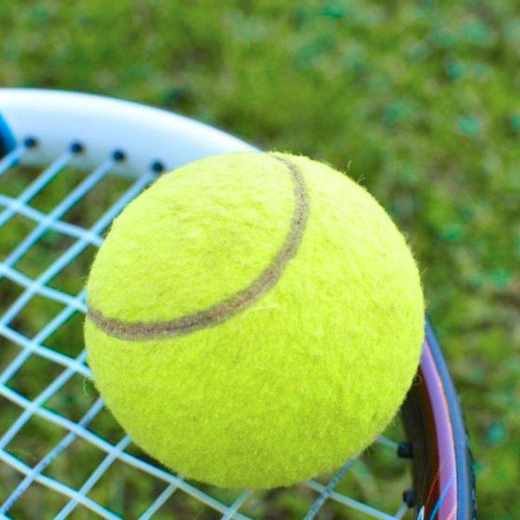 Желтый Теннисные Мячи Спортивного Турнира Открытый Fun Крикет Пляже Собака Высокое Качество супер скидка