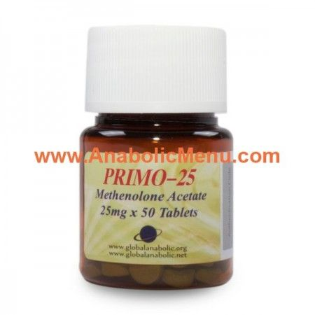Buy Global Anabolic Primobolan Tabs 25mg Chemical name: Methenolone Acetate  This hormone will enhance protein synthesis (to a degree) and can have a moderate affect on increasing red blood cell count.    https://anabolicmenu.com/products/global-anabolic/global-anabolic-primobolan-tabs
