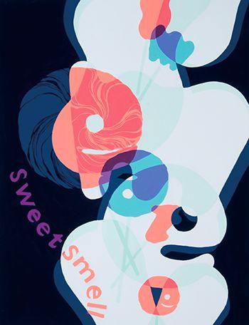 2009年度 多摩美術大学 グラフィックデザイン学科 現役合格者再現作品:色彩構成
