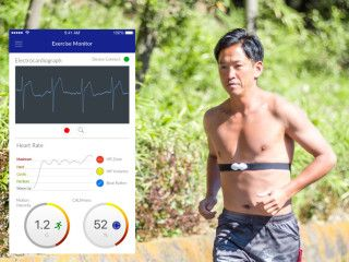 CALM. Wearable ECG for sports and sleep analysis
