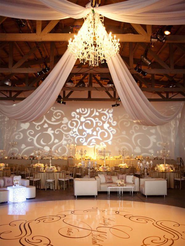 M s de 1000 ideas sobre decoraci n para techo de boda en - Ver decoraciones de salones ...