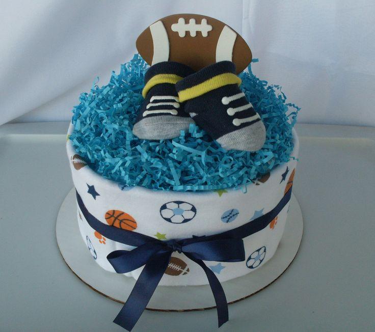 Mini Sport Diaper Cake, Football Diaper Cake, Baseball Diaper Cake, Baby Shower Centerpiece, Baby Boy Diaper Cake,Baby Shower Diaper Cake, - http://www.babyshower-decorations.com/mini-sport-diaper-cake-football-diaper-cake-baseball-diaper-cake-baby-shower-centerpiece-baby-boy-diaper-cakebaby-shower-diaper-cake.html