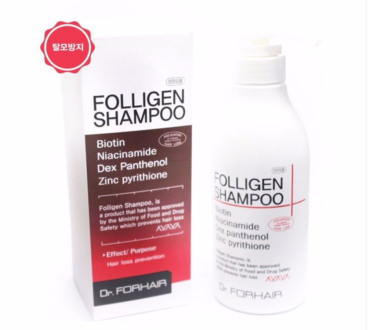 Dr. FORHAIR Folligen Shampoo 500ml Generic Hair Loss Treatment Hair Strength #DrFORHAIR