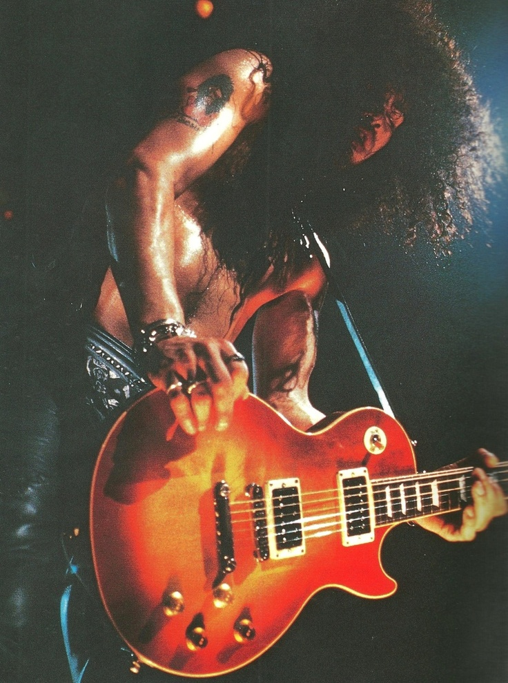 The best guitarist in the world,Rock on Slash.